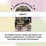 STREET LIFE GALLERY: Wir bringen Kunst näher zu den Menschen - Berliner Cafés werden zu Kunstgalerien