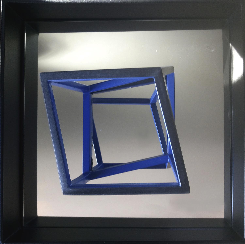"Martin Hollebecq ""Torsion cubique"" in der Galerie Sievi"