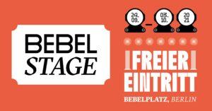 BEBEL STAGE – Die Kultur kommt zurück in die Mitte Berlins