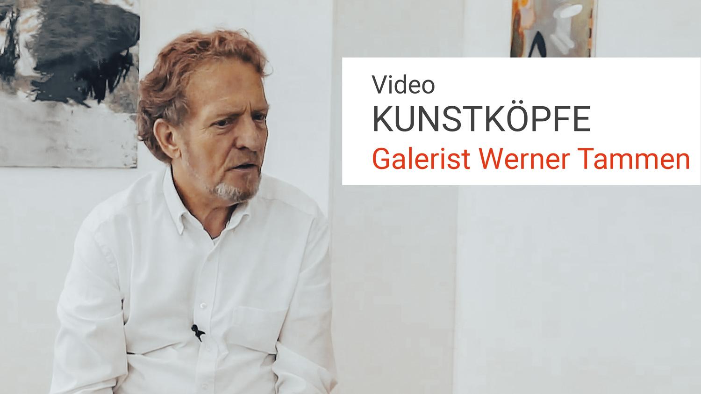 Video Galerist Werner Tammen, Vorsitzender Landesverband Berliner Galerien, LVBG