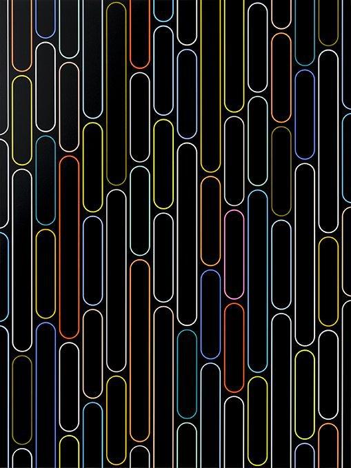 Jan van der Ploeg: Untitled (THE NEW NORMAL), PAINTING No. 20-45, 2020