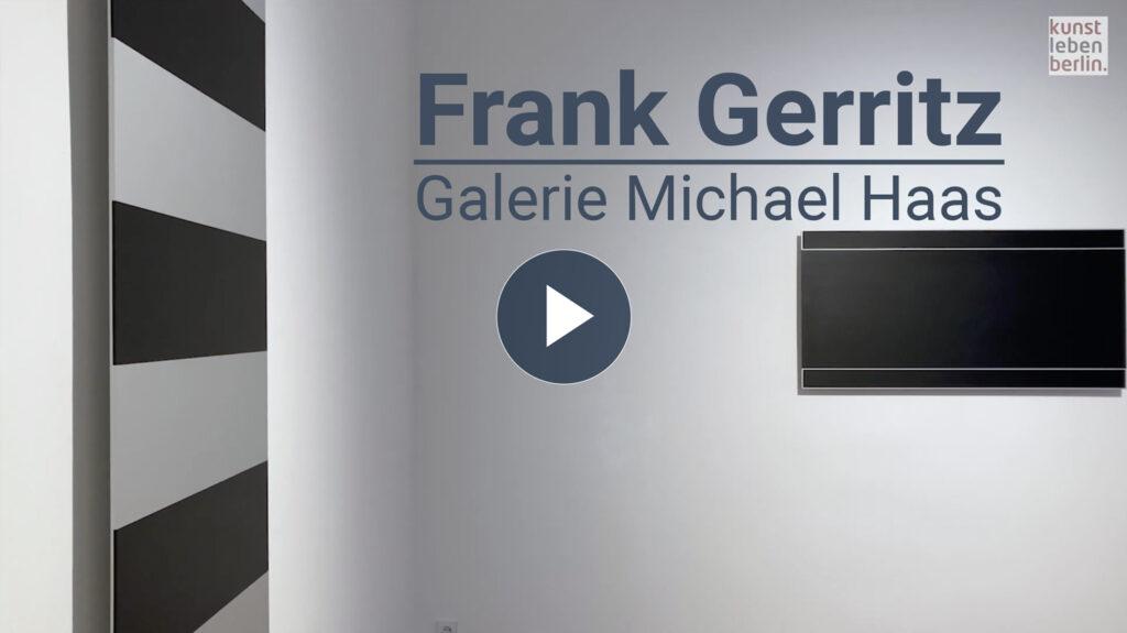 Frank Gerritz in der Galerie Michael Haas